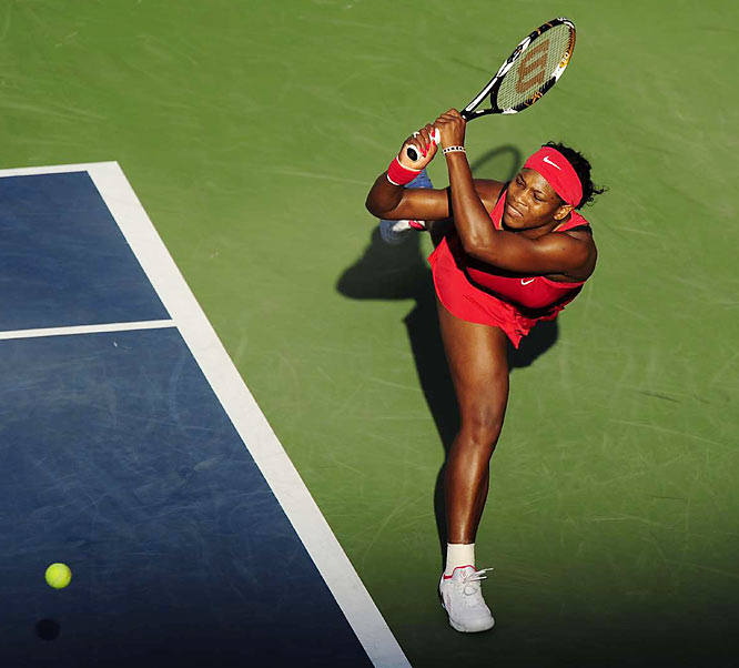 Williams' previous Grand Slam title came in January 2007, at the Australian Open.