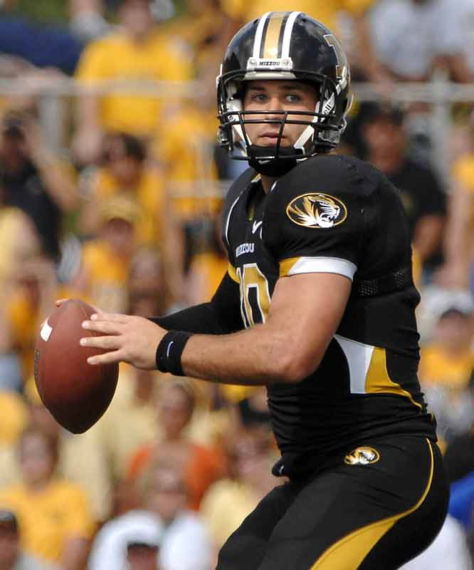 Chase Daniel was the model of extreme efficiency on Saturday, completing 36-of-43 passes for 439 yards and two TDs in No. 5 Mizzou's home win against Buffalo.