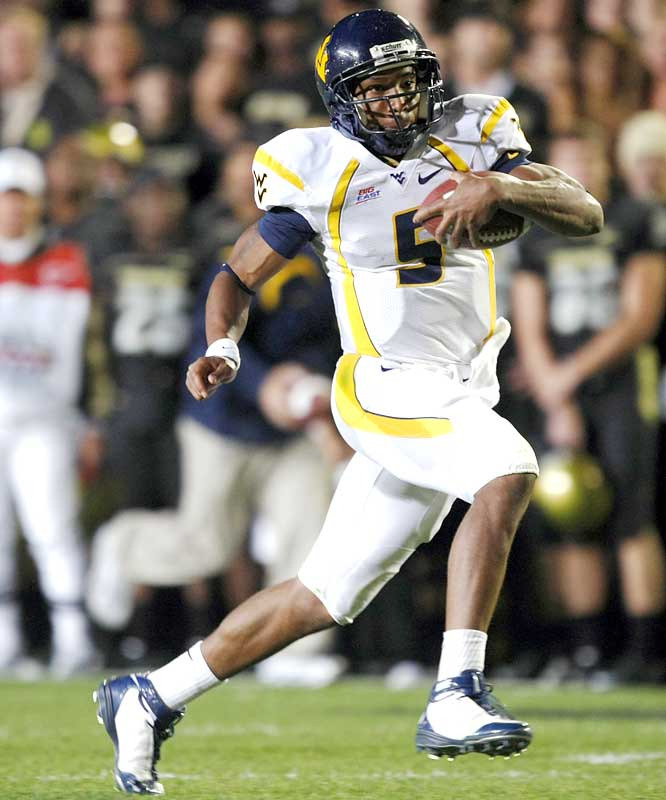 The Fiesta Bowl rout of Oklahoma must seem like years ago to the struggling Mountaineers, especially after the overtime loss to another Big 12 foe. In defeat, QB Pat White rushed for 148 yards and two scores.