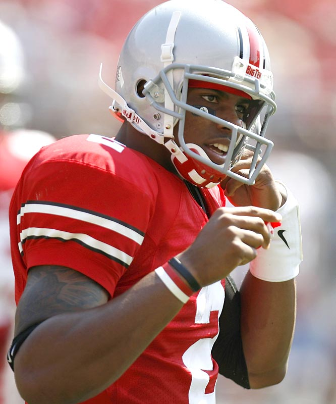 Terrelle Pryor's breakout party may have come against Troy -- and not the Men of Troy, aka USC -- but the heralded freshman nonetheless threw 4 TDs in the Buckeyes' final Big Ten tuneup.