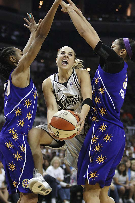 Hammon averaged 24 points per game in the series against L.A., including a game-high 35 points iin the game that propelled the Silver Stars to the WNBA finals.