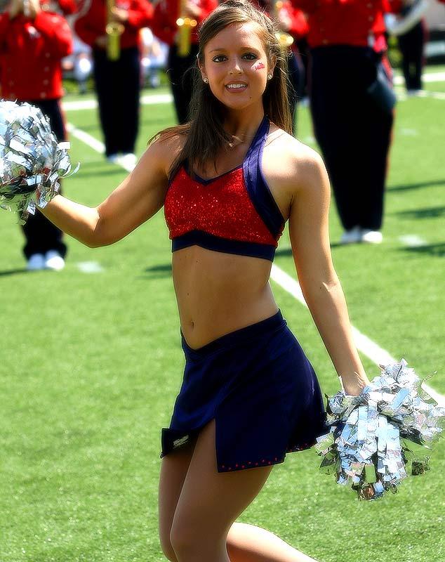 Ole miss cheerleader upskirts