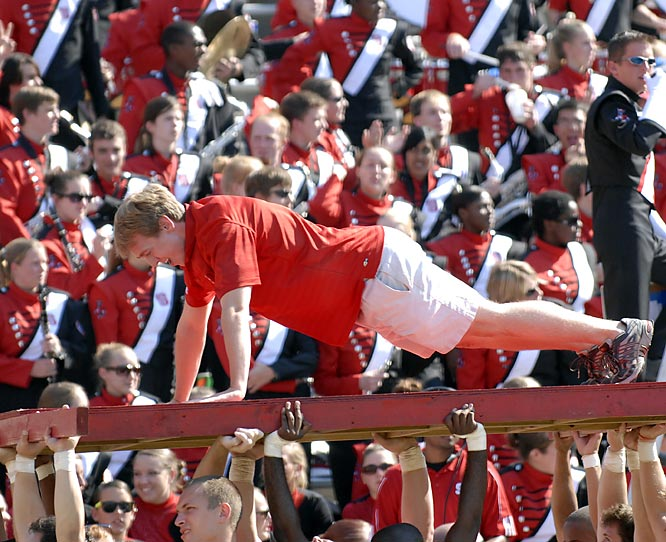 Push-ups: The tried-and-true way to prove your fandom after your team scores.
