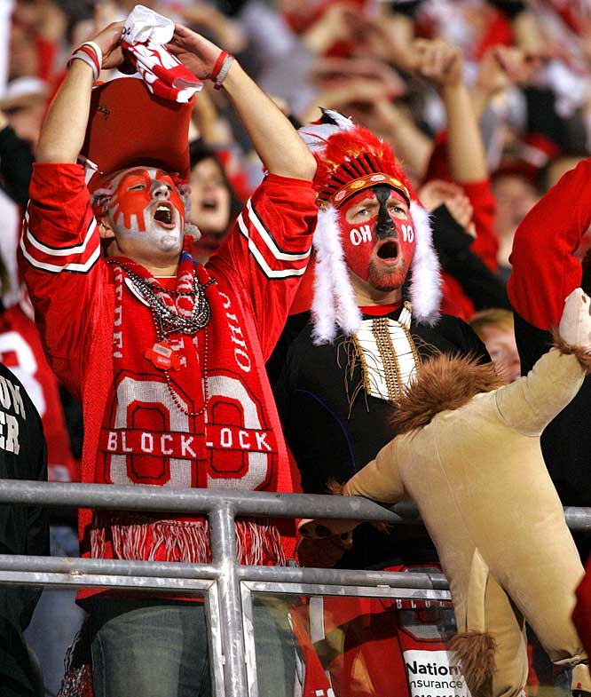 Ohio State fans were pumped for Saturday night's matchup with conference rival Penn State, but by the end of the night they were mourning the loss of their national title hopes.