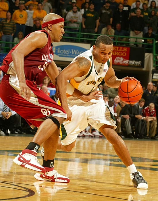 The Bears could form two NCAA tournament teams with these guards, who'll all play 25-plus minutes per game in Scott Drew's uptempo offense. Jerrells, pictured, (15.3 ppg, 3.8 apg) is the veteran leader, but look for a breakout sophomore year from Dunn (13.6 ppg), who was one of the nation's most efficient shooting guards in '07-08.
