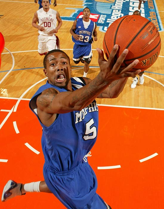 The Tigers lost two draft picks from their backcourt (Derrick Rose and Chris Douglas-Roberts), yet are still loaded enough to crack the top 10. Anderson, pictured, was a valuable glue guy in last season's Final Four run; Kemp, while no Derrick Rose, is a decent point guard; and Evans is a slasher who should thrive in the Dribble Drive Motion offense.