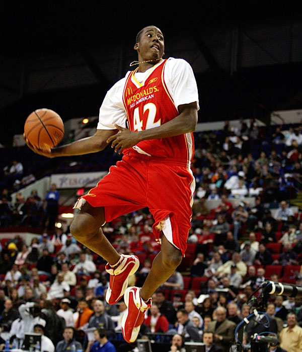 Johnson (14.6 ppg, 8.1 rpg) had a fantastic freshman season at power forward, but may move to the 3 to make room for Aminu (pictured) the jewel of the Deacons' recruiting class. The 6-foot-8 freshman was the No. 7 overall recruit in Rivals.com's Class of '08 rankings, and Walker (No. 17) and Woods (No. 20) are no slouches, either.