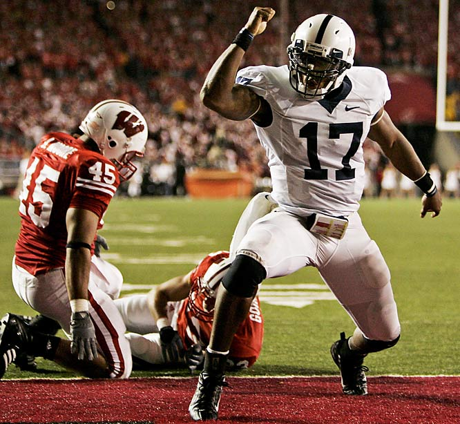 Darryl Clark and the Nittany Lions dismantled the Badgers' defense, and moved to 7-0 for the first time since 1999. Penn State added four touchdowns on the ground and another on a punt return.