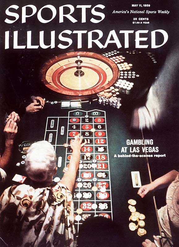 This May, 1959, issue was way ahead of its time. Long before ESPN started showing the World Series of Poker -- or aired anything for that matter -- on continuous loop, SI was in Las Vegas, exposing gambling in Sin City.