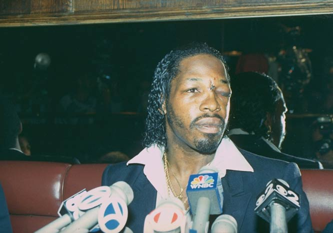 A New York jury awards boxer Mitch Green $45,000 in a civil lawsuit against Mike Tyson for a street brawl in 1988.