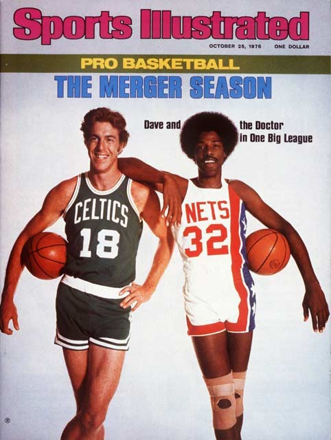 New Jersey Net Julius Erving, the ABA's most famous player, is sold to the Philadelphia 76ers of the NBA.