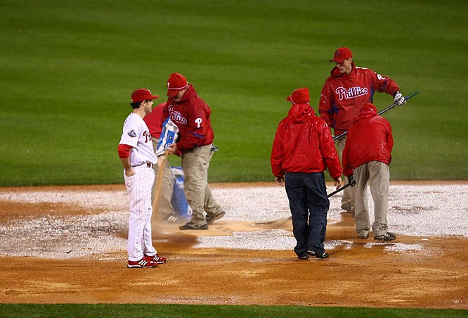 When Game 5 was suspended, Utley and the rest of the Phillies were just nine outs away from their city's first World Series title since 1980.