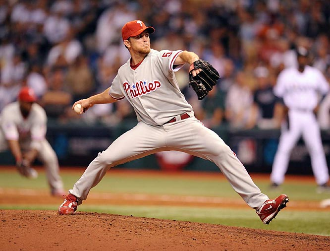 Lidge was a perfect 41 for 41 in save chances during the regular season. With his 1-2-3 ninth in Game 1, he improved to a perfect six for six in the postseason.