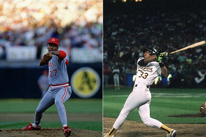 Led by Bash Brothers Mark McGwire and Jose Canseco, the defending world champion A's rolled into their third straight Fall Classic with a four-game sweep of the Red Sox in the ALCS. But it was the A's who got the broom in the World Series, falling victim to the Reds' outstanding pitching, led by the relief corps known as the Nasty Boys and Series MVP Jose Rijo, who went 2-0 and won the clinching Game 4.
