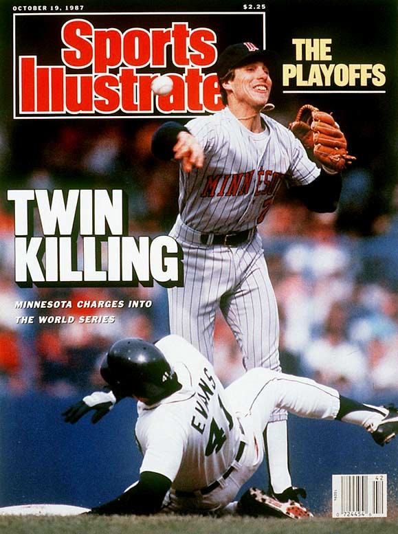 The Twins record would have only been good enough for fifth in the AL East, but Minnesota took advantage of the electric atmosphere produced by its homer hanky-waving fans in the Metrodome to win the first two games on its way to a five-game triumph.