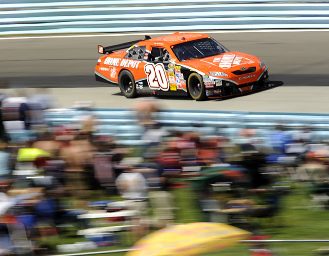 Stewart's win at Talladega in a survival race and eighth at New Hampshire are his only top-10s in a disappointing final Chase with Joe Gibbs Racing.