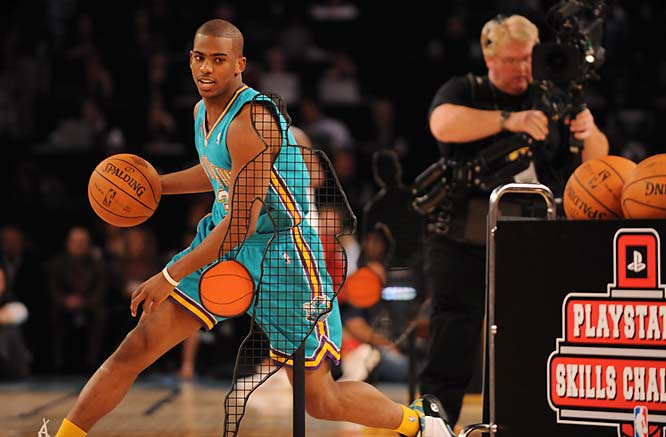 In the 2008 All-Star Game, Paul sparked a fourth quarter Western Conference comeback, bringing his side back into the game with 16 points, 14 assists and five steals. He also participated in the Skills Challenge before the game.