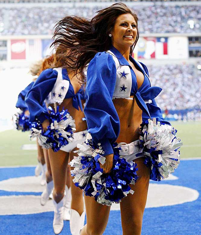 What is the Average NFL Cheerleader Salary