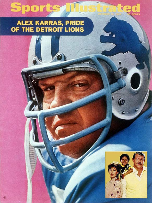 Although he was a member of the 1960s All-Decade NFL Team, Alex Karras is far better known as Emmanuel Lewis's adoptive father on the 1980s sitcom   Webster . Shockingly, he didn't even showcase his full range in Webster. Karras was considered for the role of Carlo Rizzi in  The Godfather , and appeared in both   Blazing Saddles   and  Victor/Victoria .