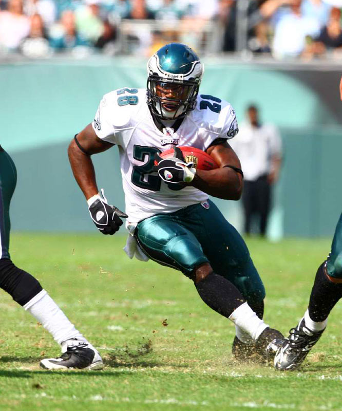 In a Week 6 win over the 49ers, Correll Buckhalter didn't just fill in for the injured Brian Westbrook; he played like him. In his second start of the season, Buckhalter ran for 93 yards, picked up another 85 receiving and scored a touchdown.
