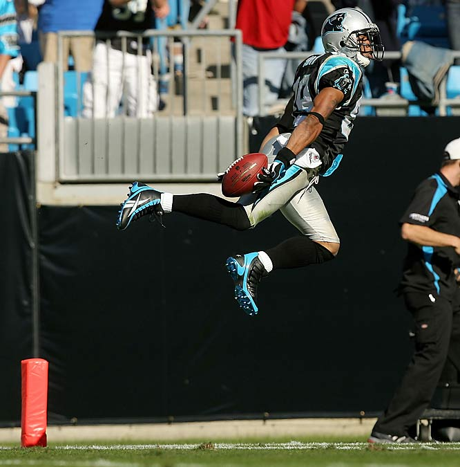 Carolina rallied and overcame a monster game by Kurt Warner Sunday. Steve Smith led the way with 117 yards receiving and two touchdowns, as the Panthers came back from 14 down in the third quarter to win 27-23.