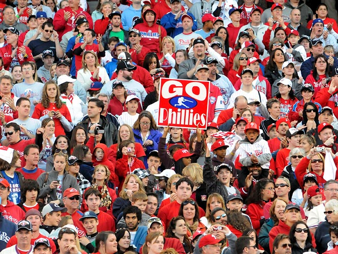 The victory parade through downtown Philly took over the city's streets in a sea of red-clad humanity.