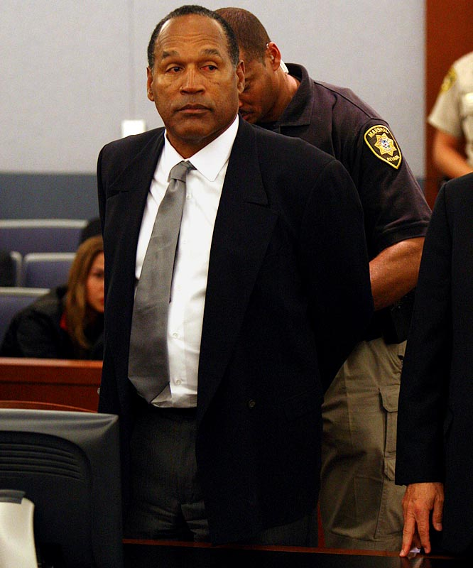 Is there a greater example that karma exists than the current plight of O.J. Simpson?  The former USC star will be spending the next few months at a Clark County Detention Center in Las Vegas before he goes off to prison, quite possibly for the rest of his life. We're guessing that reclaiming his sports memorabilia probably wasn't worth it, in retrospect.