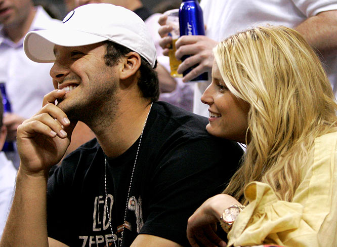 Is it overkill to blame Jessica Simpson for Romo's injury and the Cowboys' current predicament? There isn't enough blame to go around Dallas these days, so why not? While rumors are swirling that Romo will be back in the starting lineup this week, there are other rumors that Romo might be getting hitched to Simpson during the Cowboys' bye week. If that happens, Cowboys fans can just start planning for the draft now.