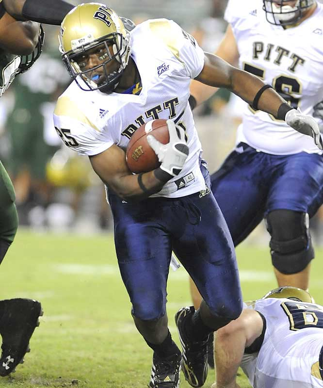 The West Virginia win from '07 aside, Pittsburgh's road win over South Florida may have been coach Dave Wannstedt's sweestest of his Panthers tenure. Sophomore tailback LeSean McCoy carried his team to victory, rushing for 142 yards and two scores.