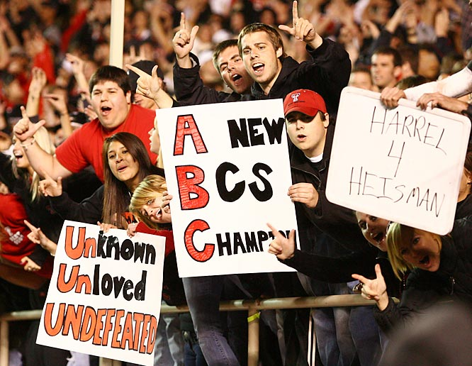 Will the next BCS champ call Lubbock home? Texas Tech fans think so.