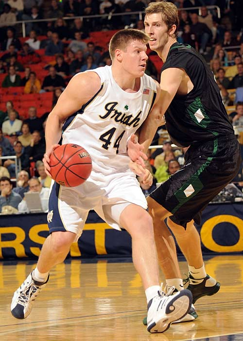 Luke Harangody had the fourth 30-point game of his career and grabbed 14 rebounds to lead the Fighting Irish past South Carolina-Upstate.
