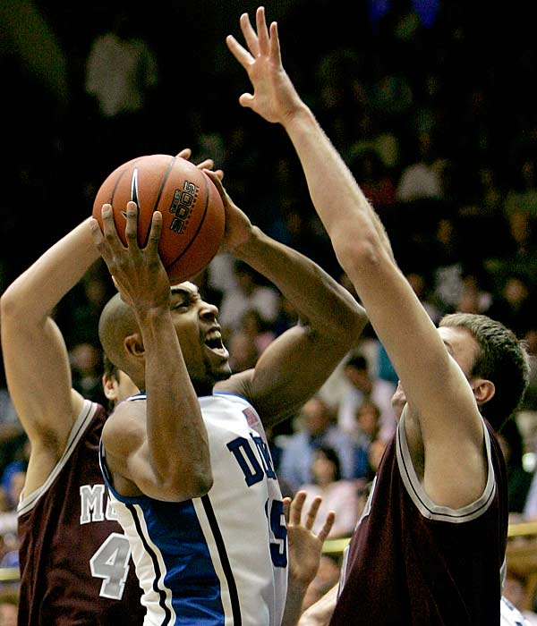 Duke grabbed its third win in four days as it pushed past Montana Sunday.  Two days earlier, the Blue Devils took the 2K Sports Classic tourney title, when they defeated Southern Illinois, 83-58.