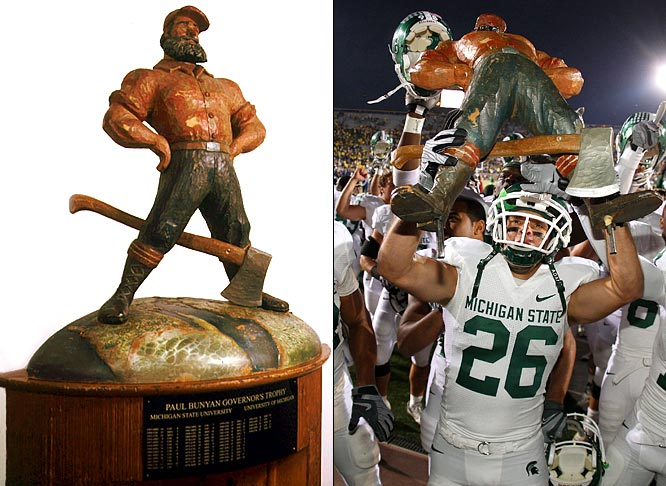 Unusual Trophies in College Football | SI.com