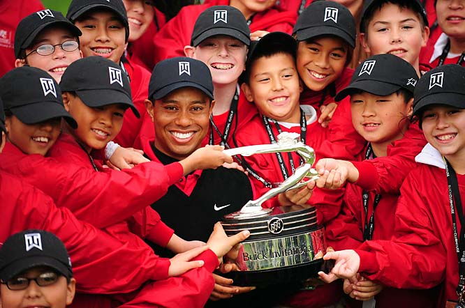 Established in 1996 by Tiger and Earl Woods, the Tiger Woods Foundation supports community-based organizations that promote the health, education and welfare of children across the country. It also sponsors a number of events, including the Chevron World Challenge (formerly the Target World Challenge) -- a non-PGA tournament Woods has won three times, donating the winner's check to the Foundation each time.