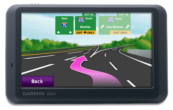 With detailed maps of both North America and Europe, this GPS unit will help you easily find courses as remote as Banff and Ballybunion. The 775T features Lane Assist, telling you not only that a turn is coming up, but which lane you should be in. Buildings appear in 3-D on the map, the screen refreshes ultra-fast, and directions are displayed and spoken. The unit is also Bluetooth enabled so you can make hands-free calls while the FM traffic receiver alerts you to delays and suggests route changes.