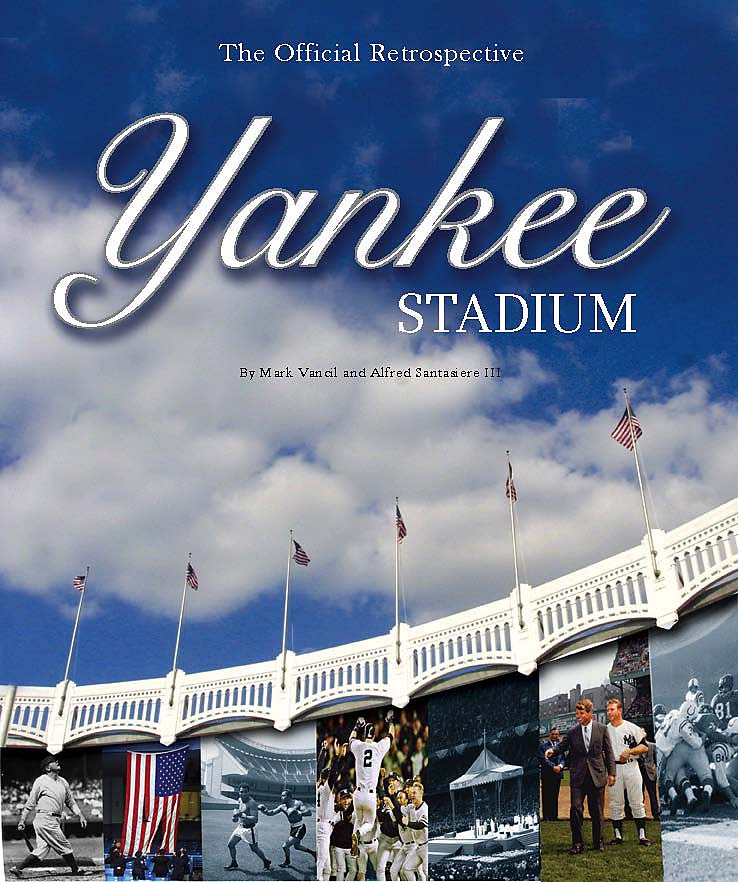 """The Yankee Stadium: Official Retrospective Coffee Table"" book is the only book published about Yankee Stadium that is licensed by the Yankees themselves. It's features more than 150 photos (many never published before) and more than 80 first-person accounts -- from Presidents to musicians to players -- that take readers through some of the iconic moments at the Stadium."