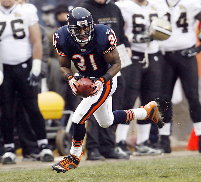 Chicago Bears cornerback Nathan Vasher returns a missed field goal 108 yards for a touchdown, the longest play in NFL history.