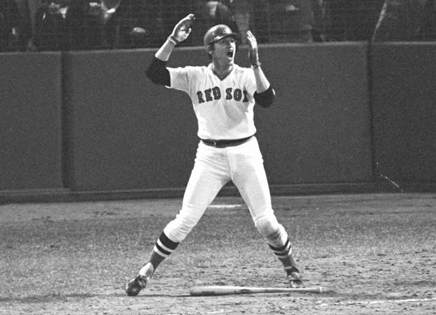 Boston catcher Carlton Fisk becomes the first unanimous choice for the American League's Rookie of the Year award.