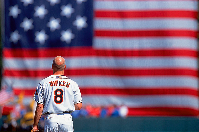 Oriole Cal Ripken is named the American League's MVP, becoming the first player to win the Rookie of the Year and Most Valuable Player Award in consecutive years.
