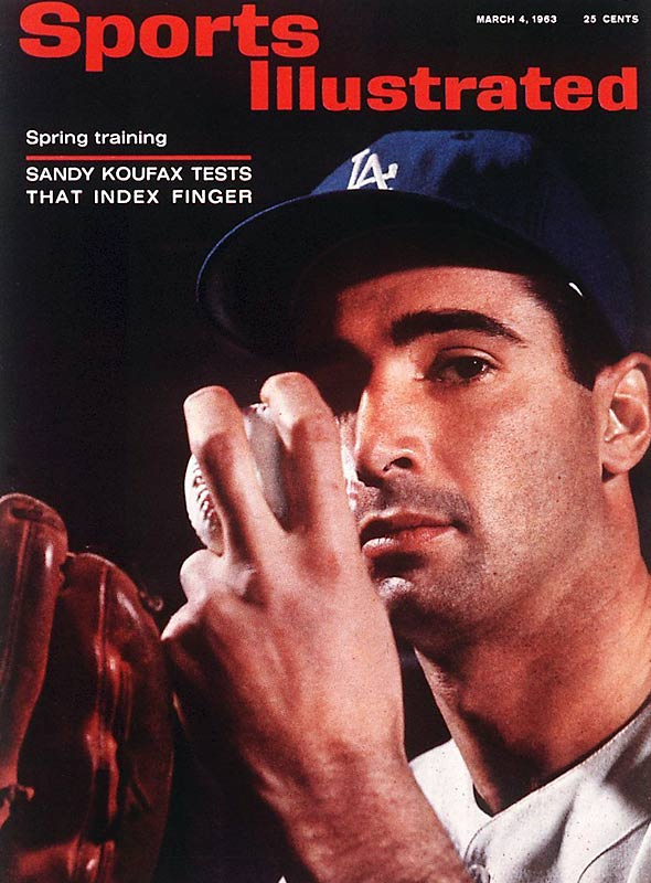 Sandy Koufax announces his retirement, due to arthritic left elbow. The Hall of Famer leaves the game with a career record of 165--87 with a 2.76 ERA.
