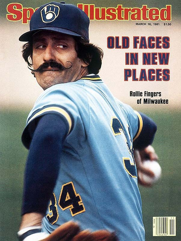 Brewer hurler Rollie Fingers becomes the first relief pitcher ever to win the American League MVP Award, narrowly beating former A's teammate Rickey Henderson.