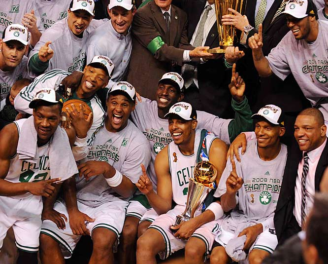 "Nominated by Ian Thomsen<br><br>""The 2007-08 Celtics are my Sportsmen of the Year because they embraced the least respected and most valuable quality of NBA millionaires: humility. Each sought to play not for himself but for the team."""