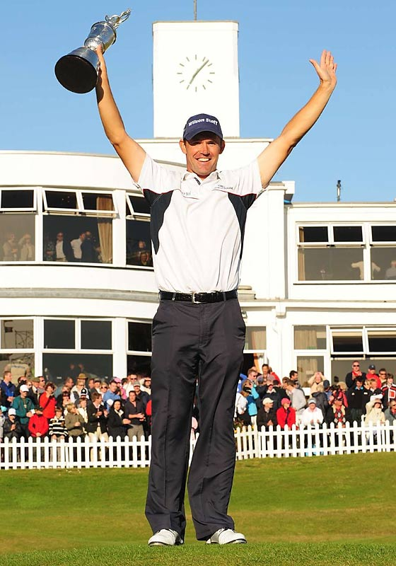 "Nominated by Damon Hack<br><br> ""Late in 2008, while Tiger was convalescing, Paddy swept the year's final two majors, the British Open at Royal Birkdale and the PGA Championship at Oakland Hills. Surely, the golf world had made alternative plans when Tiger missed the second half of the season with a knee injury. A fourth major for Phil Mickelson, perhaps, or a first one for Adam Scott. Instead it was Paddy, the son of a Dublin cop, taking his second and third major titles with a firm back and a cold glare."""