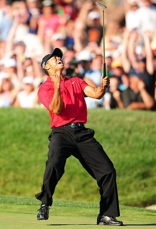 "Nominated by Chris Ballard<br><br>""The U.S. Open win alone makes Tiger a Sportsman candidate. What seals the deal is the great, roaring vacuum that his departure created in the world of golf."""