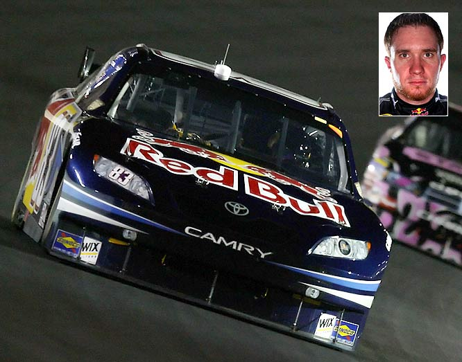 There are times when Vickers looks very good, such as the fall race at Charlotte when he led 64 laps. He's got ability, but he is rarely able to maintain performance. He's driving a Toyota, so there's no question he's got the horsepower. It is up to his Red Bull team to keep him fast for an entire race.