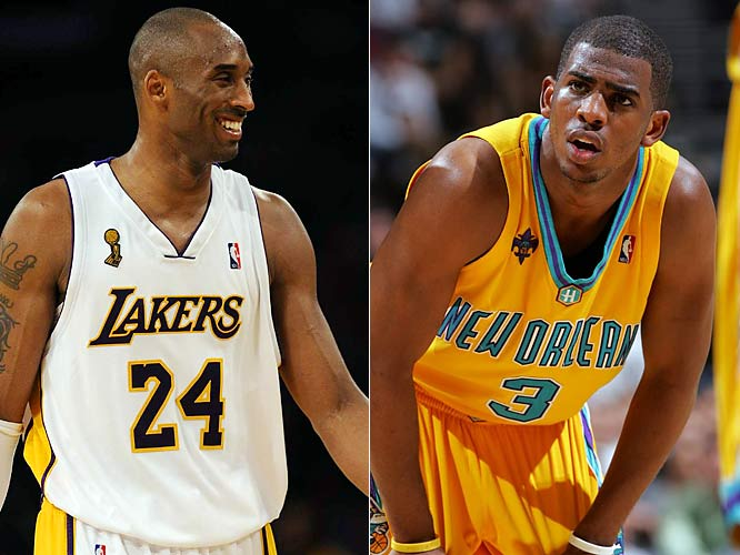 This very well could be a seven-game series in late May, but for now it's an intriguing early-season matchup involving last season's MVP (Kobe Bryant) and the second-place finisher (Chris Paul). Kobe is sure to see plenty of Hornets newcomer James Posey, who helped keep Bryant in check during the 2008 NBA Finals as a defensive stopper for the Celtics.