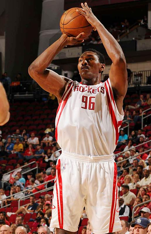 By the end of this night, we'll have a good early-season read on how new Rocket Ron Artest is meshing with Tracy McGrady and Yao Ming. That's because this meeting against a strong New Orleans team caps a four-game stretch in which Houston also will play games at the Lakers, Phoenix and San Antonio.
