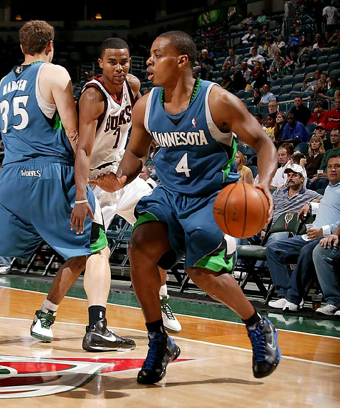 The No. 7 pick in the 2006 draft has been unable to nail down the Wolves' starting point guard job. He was benched after four games (on the heels of 3-for-14 and 0-for-10 shooting efforts) in favor of Sebastian Telfair, who himself hasn't made a convincing case to start. Coach Randy Wittman recently reinserted Foye into the starting lineup as struggling Minnesota continues to search for the right combinations.