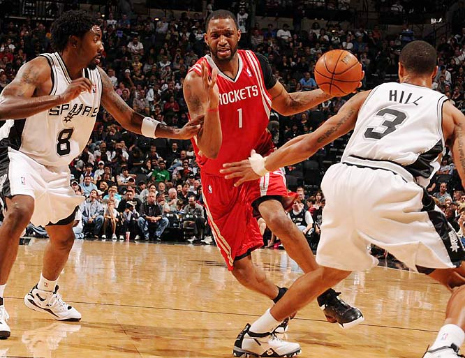 (All stats and records are through Nov. 20)<br><br>A lingering knee injury has limited McGrady's explosiveness and even prompted him to consider shutting it down until his health improved. He had two- and three-point performances in back-to-back games, and scored in single digits two other times in the Rockets' first 11 contests. A career 22-point scorer, McGrady is averaging 15.9 points (on 39.5 percent shooting from the field).<br><br>Who would you add to the list? Send comments to siwriters@simail.com.