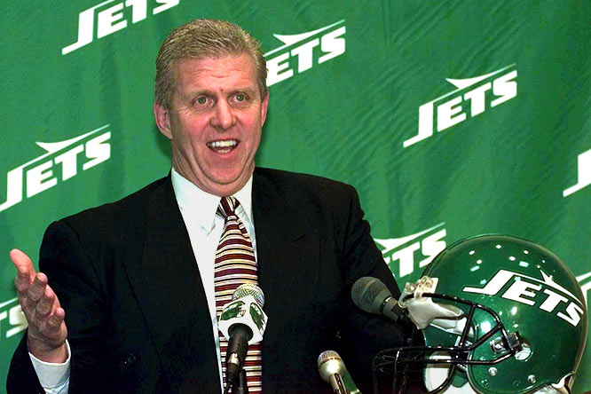 The Patriots and Jets have been competing against each other since 1960, but the rivalry really heated up during the week leading up to Super Bowl XXXI between the Packers and Patriots. New England coach Bill Parcells, whose contract would expire after the game, had been feuding with team owner Bob Kraft for much of the season over how much say Parcells would have over player personnel decisions. The Jets soon hired Parcells as a consultant and agreed to make his top assistant -- Bill Belichick -- the head coach. Kraft filed tampering charges against the Jets. Ultimately, commissioner Paul Tagliabue intervened, awarding four draft picks to the Patriots and allowing Parcells to coach the Jets immediately.